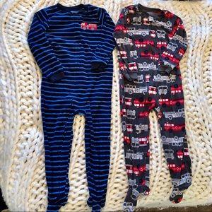 Carter's Boy Pajamas Onesie zip up 5t